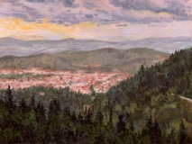 Florence, olieverf, 19 x 25 cm, 10/2004, huile, Florence