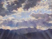 Ser du Cros, olieverf, 19 x 25 cm, 4/2011, huile, Ser du Cros