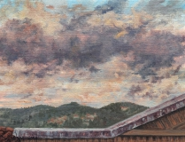 Museo Etnografico Fiesole, olieverf, 19 x 25 cm, 10/2004, huile, Museo Etnografico Fiesole