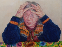 aquarel/ pastel, 46 x 61 cm, 1999, aquarelle/ pastel