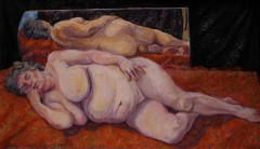 pastel, 34 x 55 cm, 2001, pastel