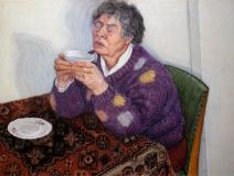 pastel, 69 x 92 cm, 2001, pastel