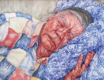 aquarel, 35 x 45 cm, 2012, aquarelle