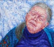 aquarel, 37 x 43 cm, 2012, aquarelle
