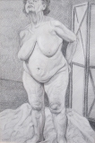 potlood, 32 x 21 cm, 1998, crayon