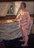 olieverf, 70 x 50 cm, 1999, huile