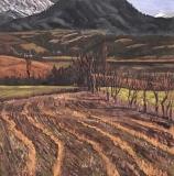 Merdoussane, olieverf, 30 x 30 cm, 3/1998, huile, Merdoussane