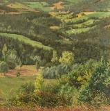 Prébois, olieverf, 35 x 35 cm, 8/2011, huile, Prébois