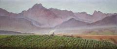 Charvet, olieverf, 17 x 41 cm, 10/2000, huile, Charvet