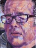 Alex, olieverf, 24 x 18 cm, 2016, huile, Alex