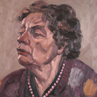 olieverf, 35 x 35 cm, 1997, huile