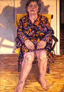 olieverf, 120 x 85 cm, 1999, huile
