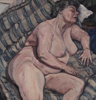 olieverf, 31 x 30 cm, 1997, huile