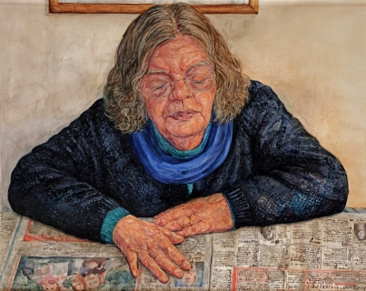 aquarel/pastel, 52 x 65 cm, 2008, aquarelle/ pastel
