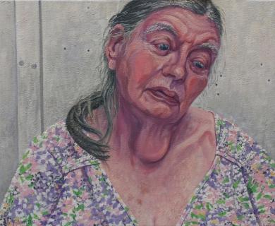 olieverf, 40 x 50 cm, 2010, huile