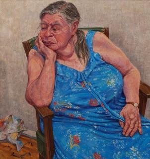 olieverf, 85 x 80 cm, 2011, huile