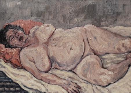 olieverf, 26 x 37 cm, 1997, huile