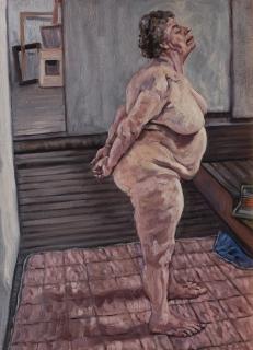 olieverf, 55 x 40 cm, 1997, huile