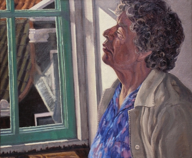 olieverf, 50 x 60 cm, 1999, huile