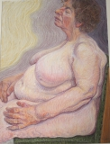 pastel, 63 x 47 cm, 2000, pastel