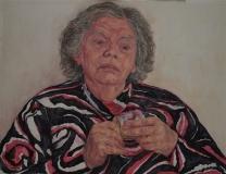 aquarel/pastel, 45 x 54 cm, 2008, aquarelle/ pastel