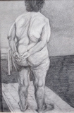potlood, 33 x 22 cm, 1998, crayon