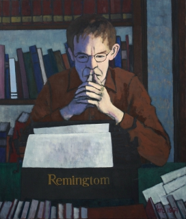 Remingtom, olieverf, 120 x 100 cm, 1984, huile, Remingtom