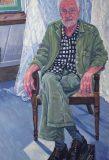 Portret van Ad, olieverf, 120 x 75 cm, 2019, huile, Ad