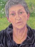 Portret Estrelita, olieverf, 40 x 30 cm, 2008, huile, Estrelita