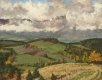 Garcinière, olieverf, 20 x 25 cm, 10/2003, huile, Garcinière